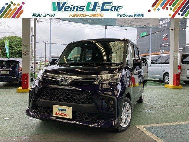 トヨタ G 助手席リフトアップシート 登録済未使用車 パノラミックビューモニター 衝突被害軽減システム ETC2.0 両側電動スライドドア スマートキー LEDヘッドランプ