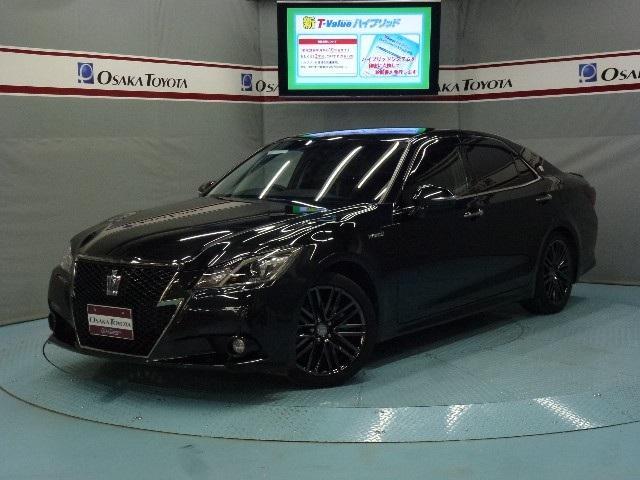 トヨタ アスリートS ブラックスタイル HDDナビ 本革
