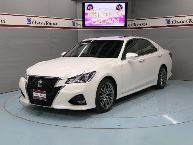 トヨタ アスリートG 3年保証 本革 サンルーフ BSM