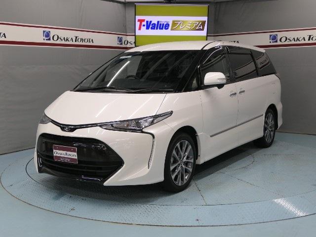 トヨタ アエラス プレミアムエディション TSS-C 後席モニター