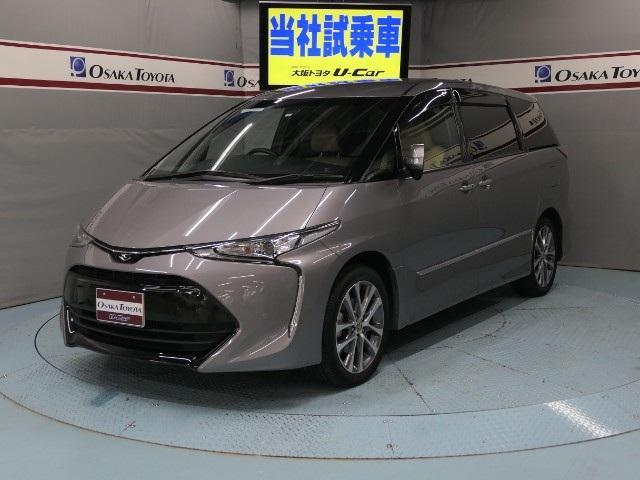 トヨタ アエラス スマート 元試乗車 2年保証 TSS-C 7人乗り