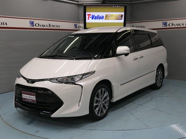 トヨタ アエラス プレミアムED 2年保証 TSS-C 後席モニター