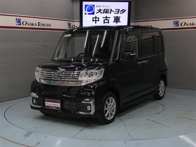 ダイハツ カスタムX エコアイドル SDナビ 左側電動スライドドア