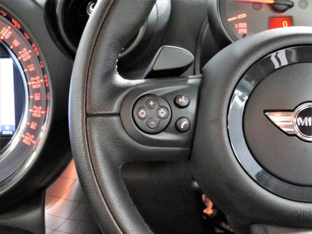 クーパーSD クロスオーバー パークレーン PARKLANE ブラックレザー フロントシートヒーター 純正ナビ 地デジチューナー Bluetooth ETC CD(17枚目)