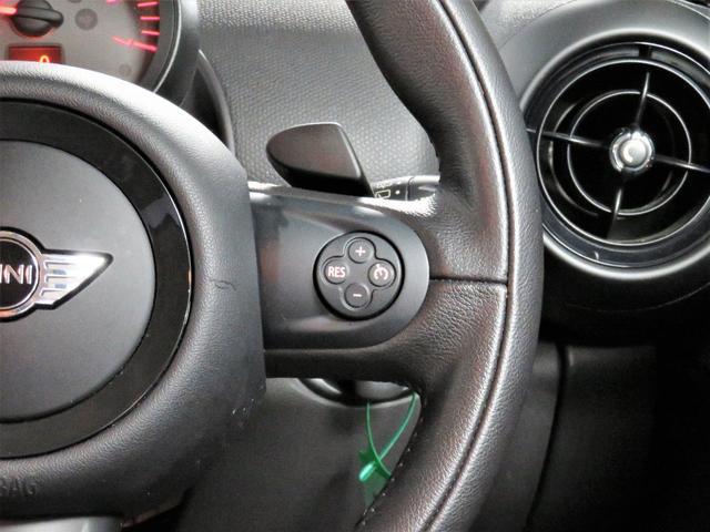 クーパーSD クロスオーバー パークレーン PARKLANE ブラックレザー フロントシートヒーター 純正ナビ 地デジチューナー Bluetooth ETC CD(18枚目)