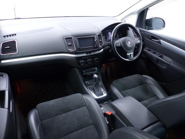フォルクスワーゲン VW シャラン TSI ハイライン BMT 黒半革 純正ナビ TV Bカメラ