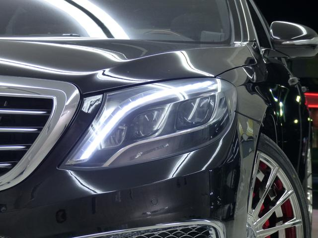 S550L S65仕様 禁煙 黒革 パノラマR LEDライト(5枚目)