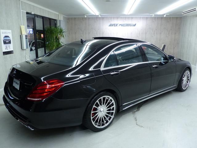 S550L S65仕様 禁煙 黒革 パノラマR LEDライト(10枚目)
