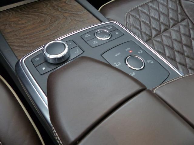 GL550 4マチック AMG EXCーPKG オーディオV オンオフロードPKG レーダーセーフティ パノラマSR デジーノ茶革 ナビ 地デジ 全周カメラ パークトロニック ベンチレーター リアエンタ ハーマンカードン ディストロ 7人乗 キセノン 21AW(50枚目)