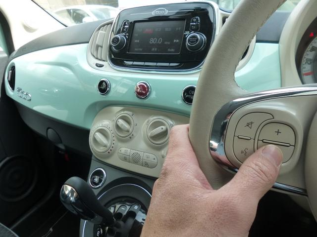 フィアット フィアット 500 1.2 ポップ デモカーアップ ETC 禁煙車