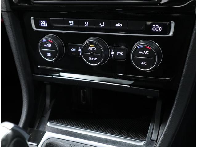 TSIハイラインには、左右独立で温度調整可能なデュアルゾーン・フルオートエアコンを搭載。「ドライビング・プロファイル機能」にも連動しています。