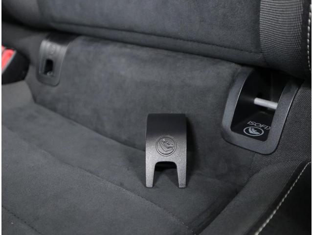 シートベルトを使わずに、簡単&確実にチャイルドシートを固定できるアイソフィックスにも対応。