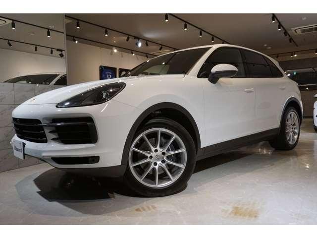 ポルシェ ポルシェ カイエン ティプトロニックS 4WD D車 スポーツクロノ