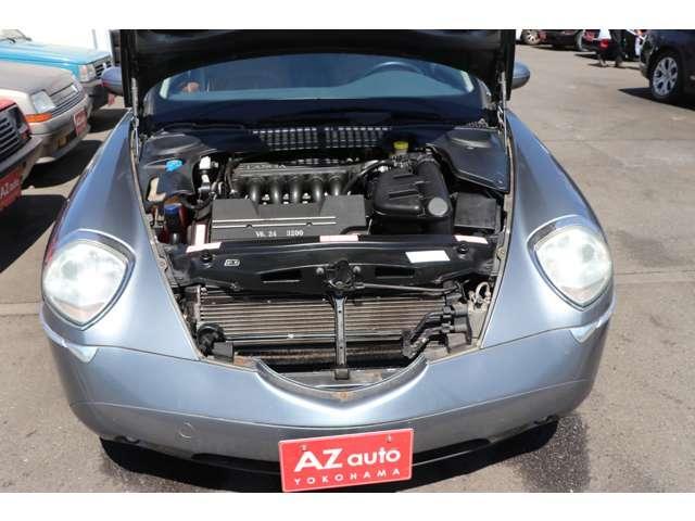 3.2 V6 フラウレザー内装 新車並行車 キーレス(20枚目)