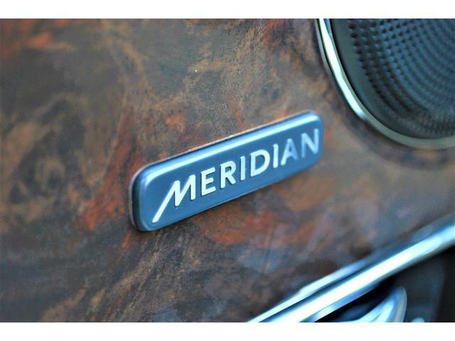 英国を代表するオーディオ・ブランド メリディアンと共同開発のオーディオシステムは社内がエレガントな音響空間を生み出します。
