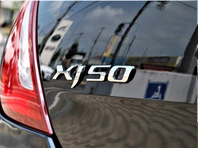 限定車専用のリヤバッチXJ50