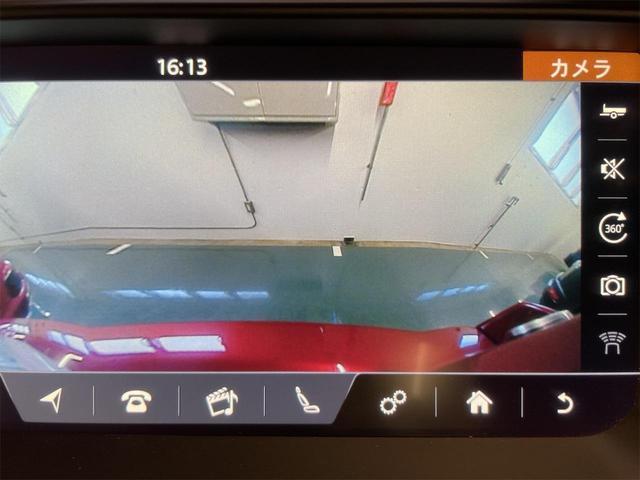 SEプラス 車検整備付 ツートンレザーシート ブラックパック パノラマミックルーフ 360°カメラ 18インチAW MERIDIANサラウンド レーンディパーチャーワーニング 自動軽減ブレーキ パワーテールゲート 地デジTV(34枚目)