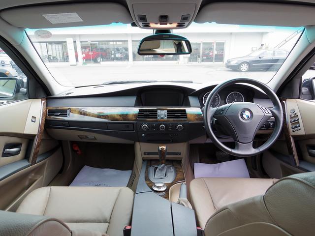 BMW BMW 530iハイラインパッケージ 純正ナビ ETC サンルーフ