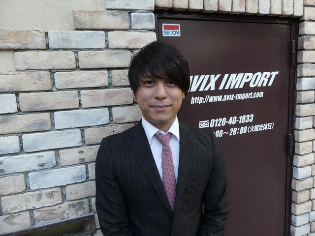 セールスアドバイザー小野 涼平(オノ リョウヘイ)と申します。この度は弊社取扱い車両をご覧頂き誠に有難う御座います。お問い合わせご来店心よりお待ち申し上げております