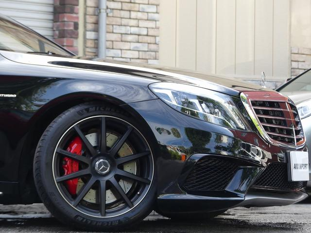 S63 AMGロング AMGダイナミックPKG 右H正規D車 パノラマSR ポーセレン革 全席シートヒーター&ベンチレーター Burmester 全周カメラ&ナイトビュー HUD RSP 赤キャリパー&専用20インチAW 社外トランクスポイラー(6枚目)