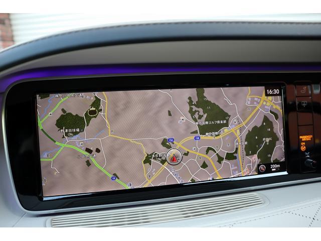 S63 AMGロング AMGダイナミックPKG 右H正規D車 パノラマSR ポーセレン革 全席シートヒーター&ベンチレーター Burmester 全周カメラ&ナイトビュー HUD RSP 赤キャリパー&専用20インチAW 社外トランクスポイラー(11枚目)