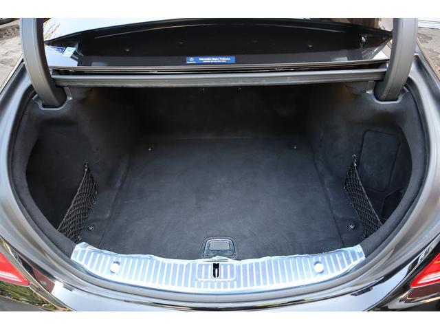 S63 AMGロング AMGダイナミックPKG 右H正規D車 パノラマSR ポーセレン革 全席シートヒーター&ベンチレーター Burmester 全周カメラ&ナイトビュー HUD RSP 赤キャリパー&専用20インチAW 社外トランクスポイラー(19枚目)