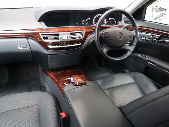 S350 セミアニリンレザーPKG 後期型 右H 正規D車 黒革 全席シートヒーター&前席ベンチレーター 純正HDDナビ地デジ Bカメラ&PTS キーレスゴー(8枚目)