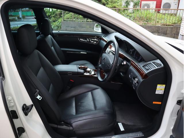 S350 セミアニリンレザーPKG 後期型 右H 正規D車 黒革 全席シートヒーター&前席ベンチレーター 純正HDDナビ地デジ Bカメラ&PTS キーレスゴー(15枚目)