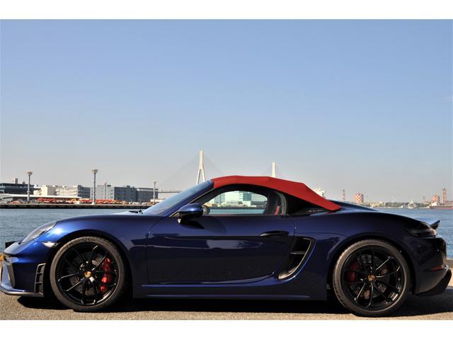 「ポルシェ」「718スパイダー」「オープンカー」「神奈川県」の中古車4