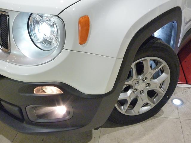 クライスラー・ジープ クライスラージープ レネゲード リミテッド 18モデル サンルーフ 地デジ 登録済み未使用車