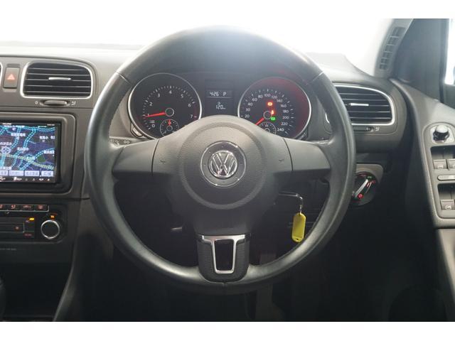 フォルクスワーゲン VW ゴルフ TSIコンフォートライン1オナ2DINナビ地デジD記録簿4枚