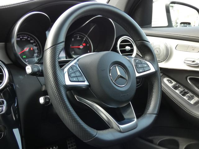 GLC220dクーペスポーツ SR黒革 RSP 禁煙新車保証(10枚目)