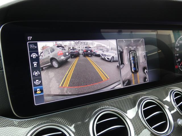E43 4マチック パノラマサンルーフ ベージュ革 レーダーセーフティPKG ヘッドアップディスプレイ 360度カメラ AMG専用20インチアルミホイール 禁煙車輌(12枚目)