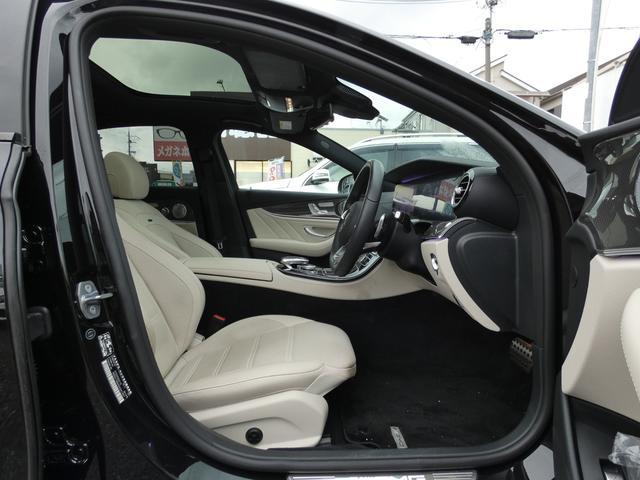 E43 4マチック パノラマサンルーフ ベージュ革 レーダーセーフティPKG ヘッドアップディスプレイ 360度カメラ AMG専用20インチアルミホイール 禁煙車輌(15枚目)