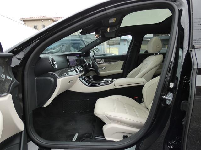 E43 4マチック パノラマサンルーフ ベージュ革 レーダーセーフティPKG ヘッドアップディスプレイ 360度カメラ AMG専用20インチアルミホイール 禁煙車輌(16枚目)