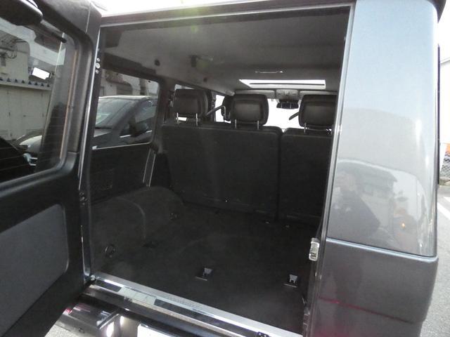 G350d サンルーフ ブラックレザー ブラインドスポットアシスト ディストロニックプラス モリー付パワーシート 全席シートヒーター バイキセノンヘッドライト純正HDDナビ 地デジ Bカメラ 18AW 禁煙(20枚目)