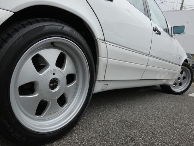 S320 最終型 5AT ブラックレザーシート 社外18AW 右ハンドル ETC クルーズコントロール 電動格納ミラー ウッドパネル 電動チルト本革巻ステアリング下取車 正規ディーラー車(42枚目)