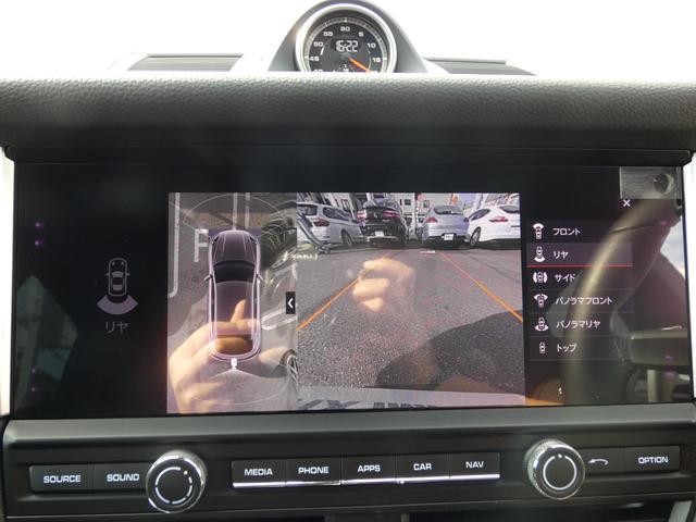 マカン 現行型 スポーツクロノPKG ブラックアルカンターラハーフレザーシート エントリーD LEDヘッドライト PCMナビ 360°カメラ シートヒーター パワーシート 18AW 禁煙 正規ディーラー車(11枚目)
