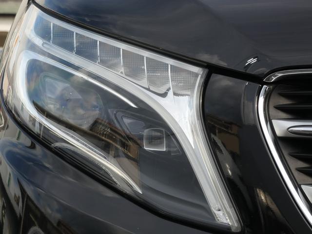 V220d スポーツ ロング パノラマ 黒革 レーダーセーフティPKG HDDナビ 地デジ 360°カメラ 19AW 禁煙 メモリー付パワーシート シートヒーター リアモニター LEDヘッドライト 1オーナー 正規D車(35枚目)