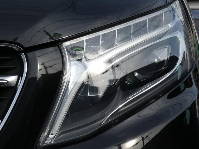 V220d スポーツ ロング パノラマ 黒革 レーダーセーフティPKG HDDナビ 地デジ 360°カメラ 19AW 禁煙 メモリー付パワーシート シートヒーター リアモニター LEDヘッドライト 1オーナー 正規D車(36枚目)
