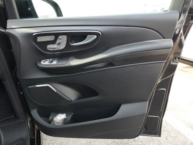 V220d スポーツ ロング パノラマ 黒革 レーダーセーフティPKG HDDナビ 地デジ 360°カメラ 19AW 禁煙 メモリー付パワーシート シートヒーター リアモニター LEDヘッドライト 1オーナー 正規D車(44枚目)