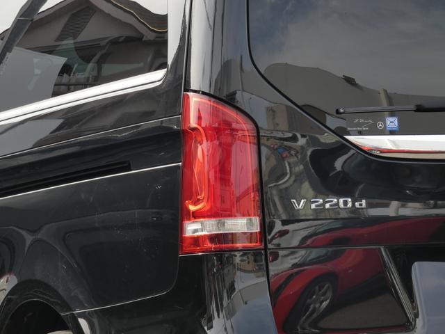 V220d スポーツ ロング パノラマ 黒革 レーダーセーフティPKG HDDナビ 地デジ 360°カメラ 19AW 禁煙 メモリー付パワーシート シートヒーター リアモニター LEDヘッドライト 1オーナー 正規D車(54枚目)