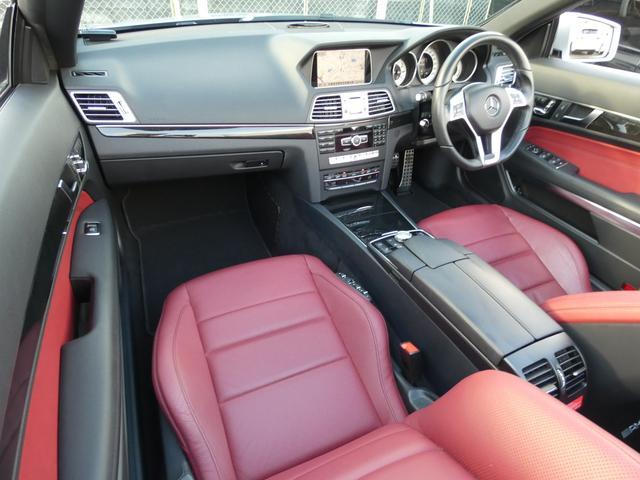 E250カブリオレ AMGスポーツPKG 先進装備レーダーセーフティーパッケージ LEDパフォーマンスヘッドライト/LEDポジショニングライト付 純正HDDナビ・地デジ・バックカメラ・ETC(9枚目)