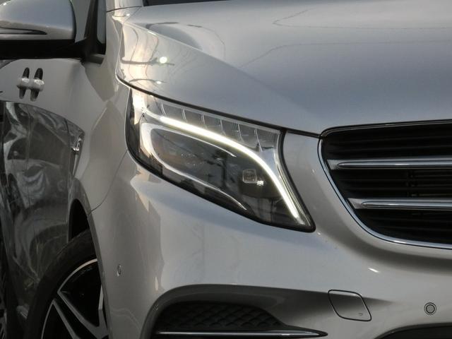 V220d スポーツ ロング パノラマ 黒革 レーダーセーフティPKG HDDナビ 地デジ 360°カメラ 19AW 社外リップスポイラー 禁煙  シートヒーター LEDヘッドライト 正規D車(4枚目)