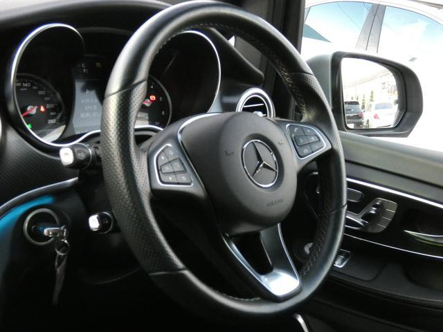 V220d スポーツ ロング パノラマ 黒革 レーダーセーフティPKG HDDナビ 地デジ 360°カメラ 19AW 社外リップスポイラー 禁煙  シートヒーター LEDヘッドライト 正規D車(9枚目)