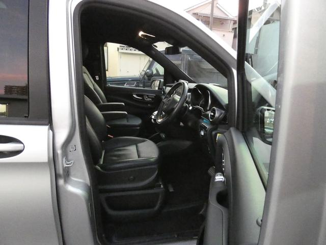V220d スポーツ ロング パノラマ 黒革 レーダーセーフティPKG HDDナビ 地デジ 360°カメラ 19AW 社外リップスポイラー 禁煙  シートヒーター LEDヘッドライト 正規D車(14枚目)
