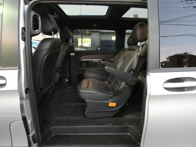 V220d スポーツ ロング パノラマ 黒革 レーダーセーフティPKG HDDナビ 地デジ 360°カメラ 19AW 社外リップスポイラー 禁煙  シートヒーター LEDヘッドライト 正規D車(16枚目)