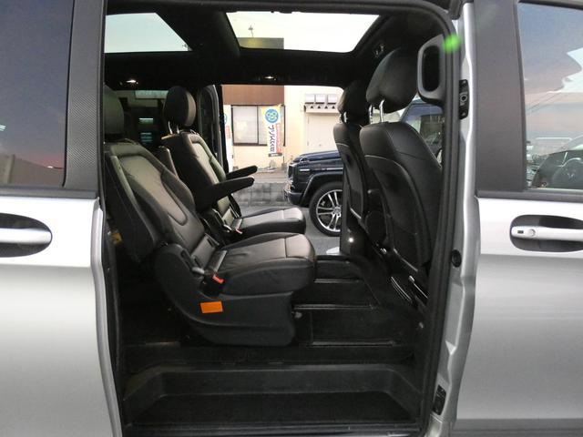V220d スポーツ ロング パノラマ 黒革 レーダーセーフティPKG HDDナビ 地デジ 360°カメラ 19AW 社外リップスポイラー 禁煙  シートヒーター LEDヘッドライト 正規D車(17枚目)