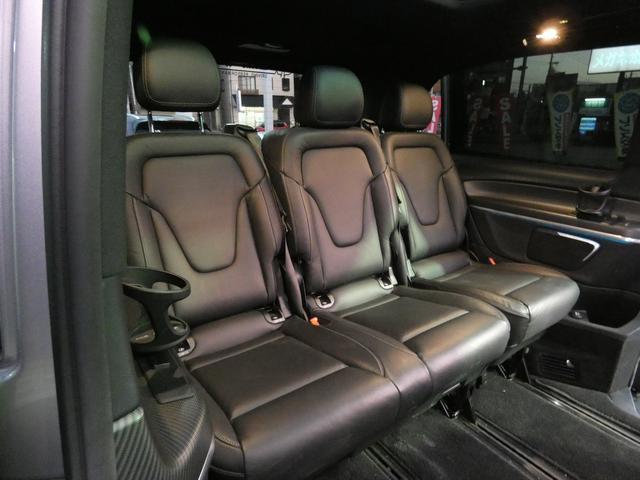 V220d スポーツ ロング パノラマ 黒革 レーダーセーフティPKG HDDナビ 地デジ 360°カメラ 19AW 社外リップスポイラー 禁煙  シートヒーター LEDヘッドライト 正規D車(19枚目)