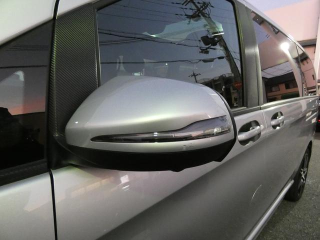 V220d スポーツ ロング パノラマ 黒革 レーダーセーフティPKG HDDナビ 地デジ 360°カメラ 19AW 社外リップスポイラー 禁煙  シートヒーター LEDヘッドライト 正規D車(39枚目)